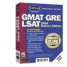 Kaplan GMAT/GRE/LSAT 2004 Deluxe Edition