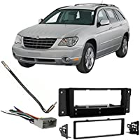 Fits Chrysler Pacifica 04-08 Single DIN Stereo Harness Radio Install Dash Kit