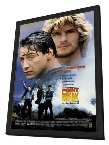Point Break Framed Movie Poster