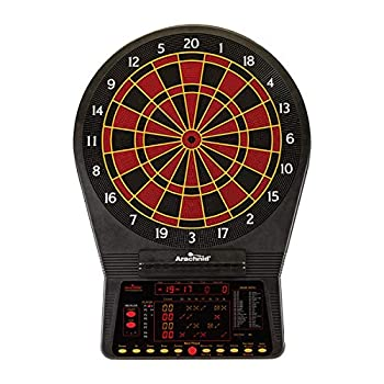Image of Cricket Pro 900 by Arachnid- Talking Electronic Dartboard, 15.5' Target Area, Up to 8 Player Score Display, Solo Play, MPR and PPD Scoring, 8 New Games, Includes Soft Tip Darts and Extra Tips Dartboards
