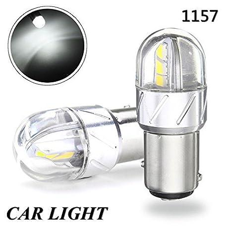 Amazon.com: 2 x 680 lúmenes 1157 1141 1003 3030 6SMD LED luz ...