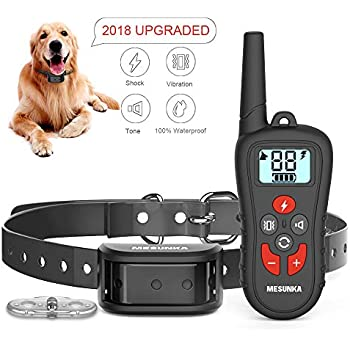 Amazon com : Dog Training Collar - Rechargeable IPX7 Waterproof