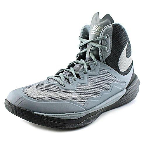 Nike Mens Prime Hype Df Ii High-Top Basketball Shoe-Cl Gry/Rflct Slvr Blk Mtllc Sl-11