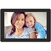 Nixplay Seed 10.1 Inch Widescreen WiFi Digital Photo Frame - Black (W10B)