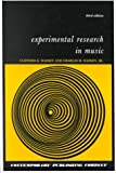 Experimental Research in Music 3rd Edition