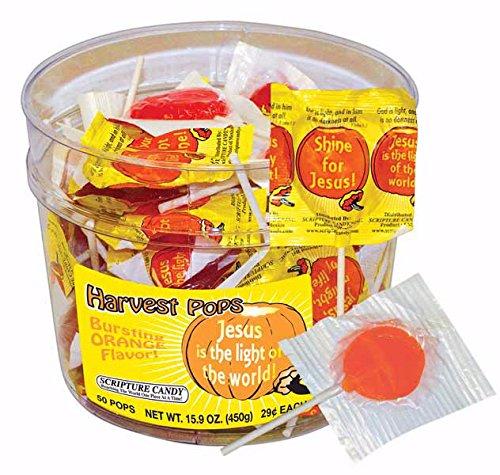 Scripture Candy Harvest Pops, Bucket