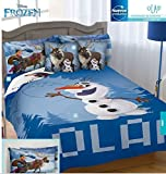 Disney Frozen Olaf 100% Microfiber Comforter Set 5Pc Twin Size by kiddie4u