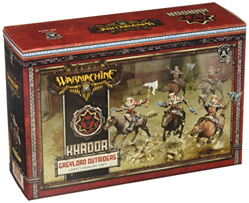 Privateer Press - Warmachine - Khador Greylord Outriders Model Kit 3