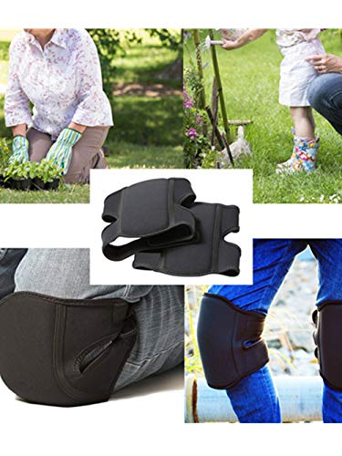 - Knee Pads Soft Comfort Kneepads,BCDshop Knee Protection Pad for Work Gardener,Flooring, Gardening and Cleaning (Black)