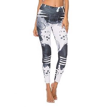 pZgfg Pantalones De Yoga para Mujer Estampados Florales ...