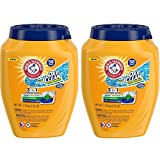Arm & Hammer Plus Oxiclean 3-in-1 Laundry Detergent Paks, 58 Count
