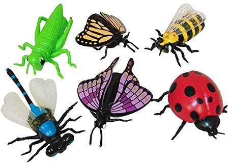 Fun Express Insect Finger Puppets 12ct (Bug Finger Puppets)