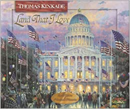 land that i love thomas kinkades lighted path collection