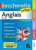 bescherelle anglais college grammaire conjugaison vocabulaire prononciation a1 b1 french edition