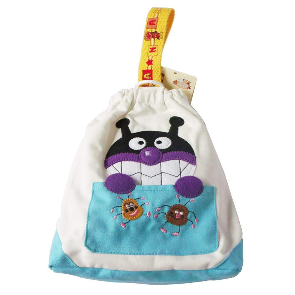Leinwand Babyflasche Thermosflasche Cart Hängende Flasche Aufbewahrungstasche wiederverwendbare Kühltaschen (dunkelblau) 1pc Xiton