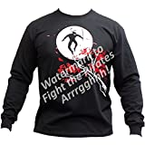 Piranha Gear Clearance Martial Arts Long Sleeve T-Shirt -Ninja Moon