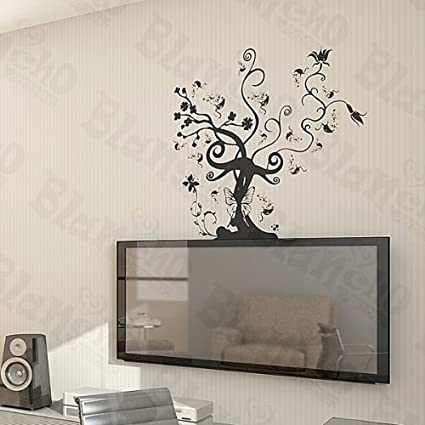 Vine tree large wall decals stickers appliques home decor