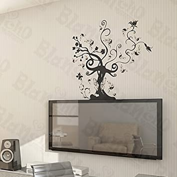 Amazoncom Vine Tree Large Wall Decals Stickers Appliques Home