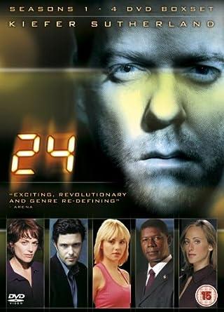 24 - Season 1-4 [DVD]: Amazon co uk: Kiefer Sutherland, Sarah Wynter