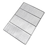 SZRWD Stainless Steel Cooling Rack, Baking Rack Barbecue Grills/Rack for Cooking, Bakery, Roasting, Grilling, BBQ (Rectangular, 60 * 40CM)