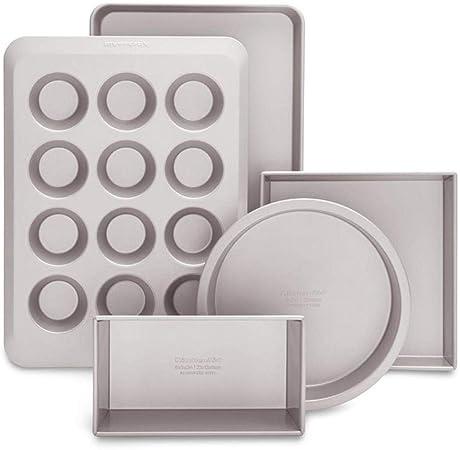 KitchenAid 4KB2CNSS5 - Juego de moldes para horno: Amazon.es: Hogar