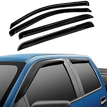 amazoncom ez motoring sunrain guard vent shade window visors wind deflector