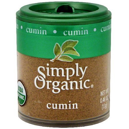 Simply Organic Cumin 0.46 oz (Pack of 6)