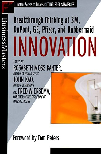Price comparison product image Innovation : Breakthrough Thinking at 3M,  DuPont,  GE,  Pfizer,  and Rubbermaid (Businessmasters Series)