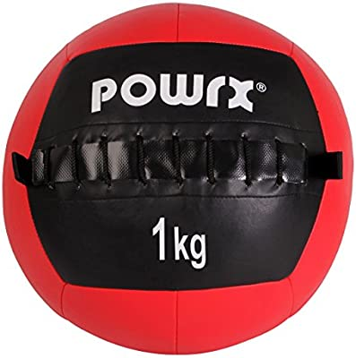 Balón medicinal Wall Ball, 1-10 kg, 1 kg / Rot: Amazon.es ...