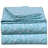 EnvioHome 160 GSM Durable Cotton Winter Flannel Sheet Set - 3 Pc - Twin XL, Winter Breeze