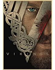 Vikings Tv Show Wall Paper Poster Size 42x30cm Lagertha Floki Bjorn Ragnar Ivar - ورق جدران مسلسل الفايكنق لاغيثا راغنار فلوكي