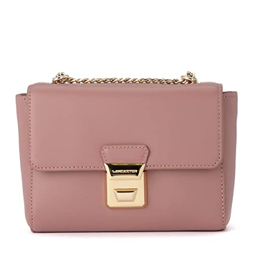 a basso prezzo 0e165 f8560 Lancaster Borsa a tracolla Gena Or in pelle rosa: Amazon.it ...