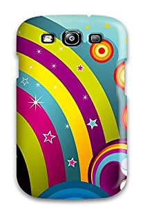 Fashion WOngCYF6706SNwjM Case Cover For Galaxy S3(happy Rainbow )
