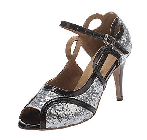 Miyoopark - salón mujer Silver-10cm heel