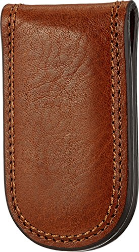 Leather Bosca Briefs - Bosca Men's Dolce Collection - Money Clip Amber One Size