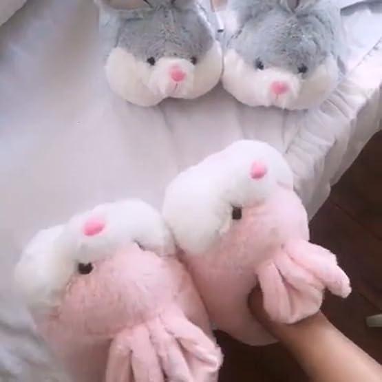 Bunny Slippers | Kawaii Plush Slippers 7