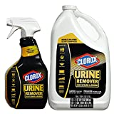 Clorox Urine Remover for Stains & Odors (32 oz. spray bottle and 128 oz. refill) (pack of 6)