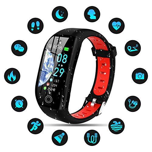 Tipmant Smartwatch, Relojes Inteligentes Mujer Hombre Niños Impermeable IP68 Pulsera Actividad Inteligente con…