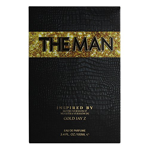 The Man For Men, Eau De Perfum 3.4 Fl. Oz./ 100 ml Inspired By Gold By Jay Z Men Cologne