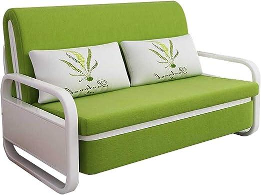 FGDFGDFEEGVD El sofá Cama Doble de Tela y algodón de látex Adulto se Puede Descansar para su Almacenamiento y se Puede Plegar y Lavar para el salón de Belleza apartamento pequeño: Amazon.es: