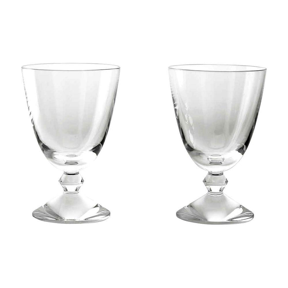 Baccarat Crystal Vega Small Water Glass - Clear - Set of 2