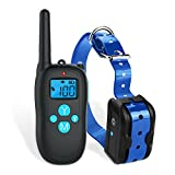 #4: JIUAM Dog Shock Collar 1000ft Remote Training and 100% Waterproof Rechargeable Shock Collar with Beep Vibration and Electric Dog Collar for All Size Dogs