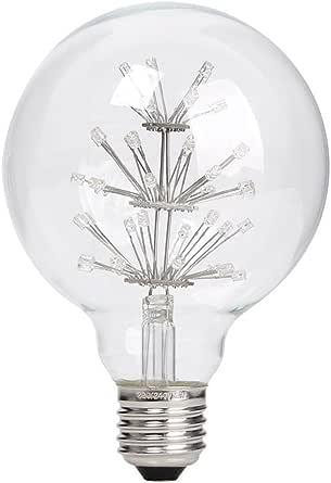 LEDMOMO Vintage Edison E27 LED Light Bulb Fairy Light 220-240V 3W G95 Retro Bulb (Warm White)