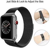 Para Apple Watch Pulsera, DoZoO Milanese correa acero inoxidable ...