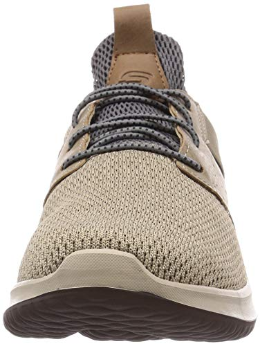 Skechers Men's Classic Fit-Delson-Camden Sneaker,taupe,11.5 M US