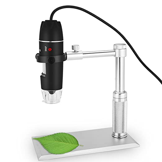 46 opinioni per Microscopio, Crenova UM012C digitale USB Microscopio video 500MP Fotocamera di