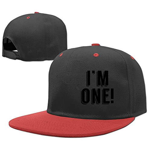 Wiongh Opp Hip Hop Baseball Caps Adjustable Hats I'm 1st Birthday Boys-Girl