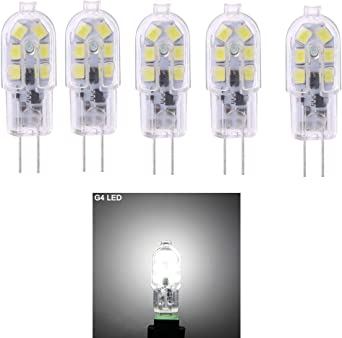 12x 10W or 20W Halogen G4 12V Clear Capsule Dimmable Light Bulbs G4 Base Lamps
