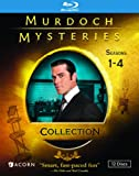 MURDOCH MYSTERIES COLLECTION: SEASONS 1-4 (BLU-RAY)