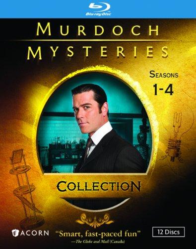 MURDOCH MYSTERIES COLLECTION: SEASONS 1-4 (BLU-RAY) by RLJ/SPHE